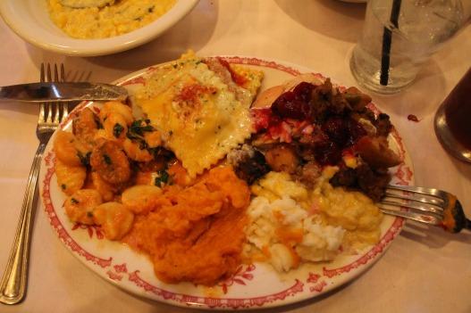 Maggiano's Las Vegas Thanksgiving Dinner