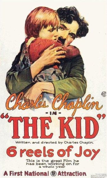 charlie chaplin the kid movie poster