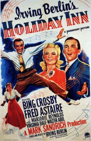 crosby astaire holiday inn movie poster