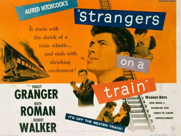 farley granger strangers on a train