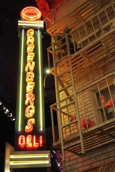 Greenberg's Deli New York New York Las Vegas Neon Sign