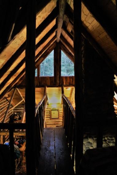 Log Cabin Loft Whidbey Island WA