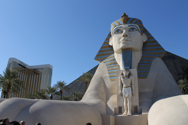 Luxor Sphinx Las Vegas Strip