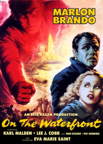 marlon brando on the waterfront poster