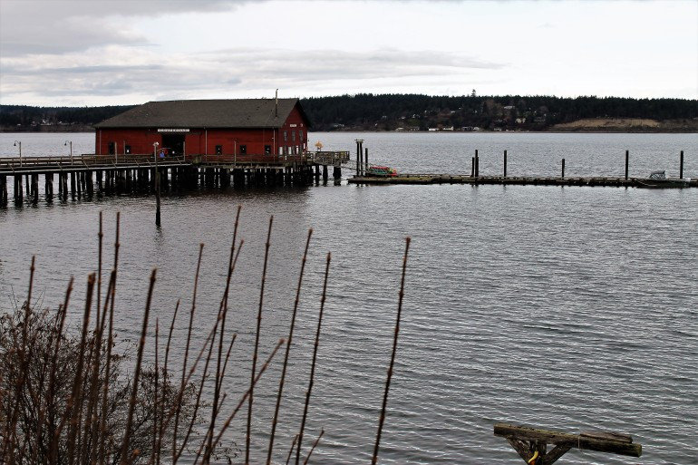 Penn Cove Wharf Coupeville Whidbey Island WA
