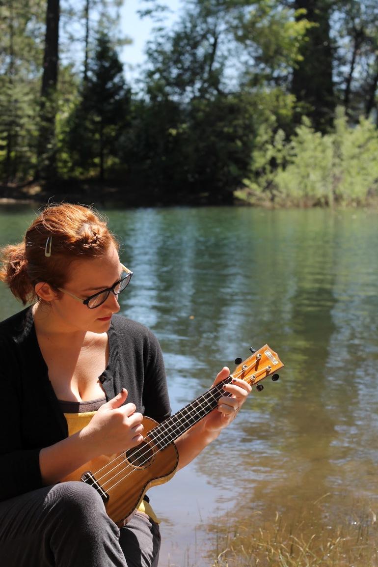 Pollack Pines Girls Weekend Jenkinson Lake Cassie Ukelele 1