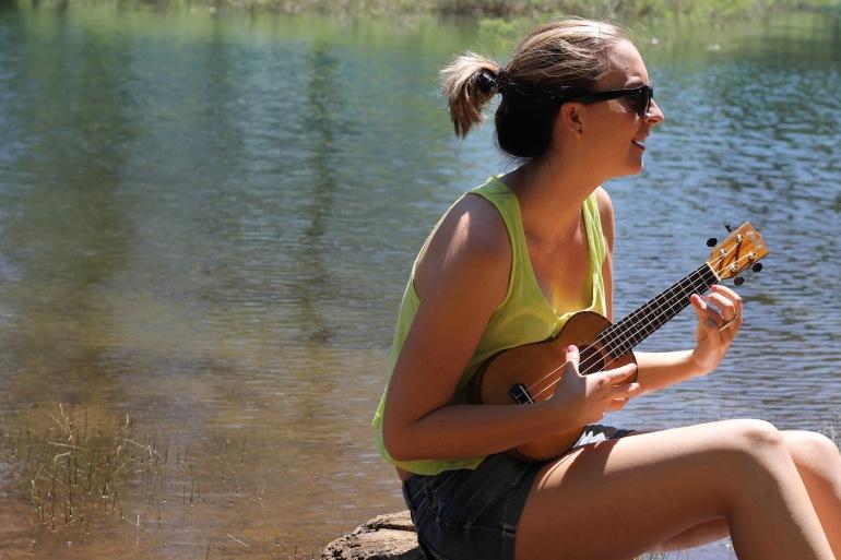 Pollack Pines Girls Weekend Jenkinson Lake Lindsey Ukelele 1