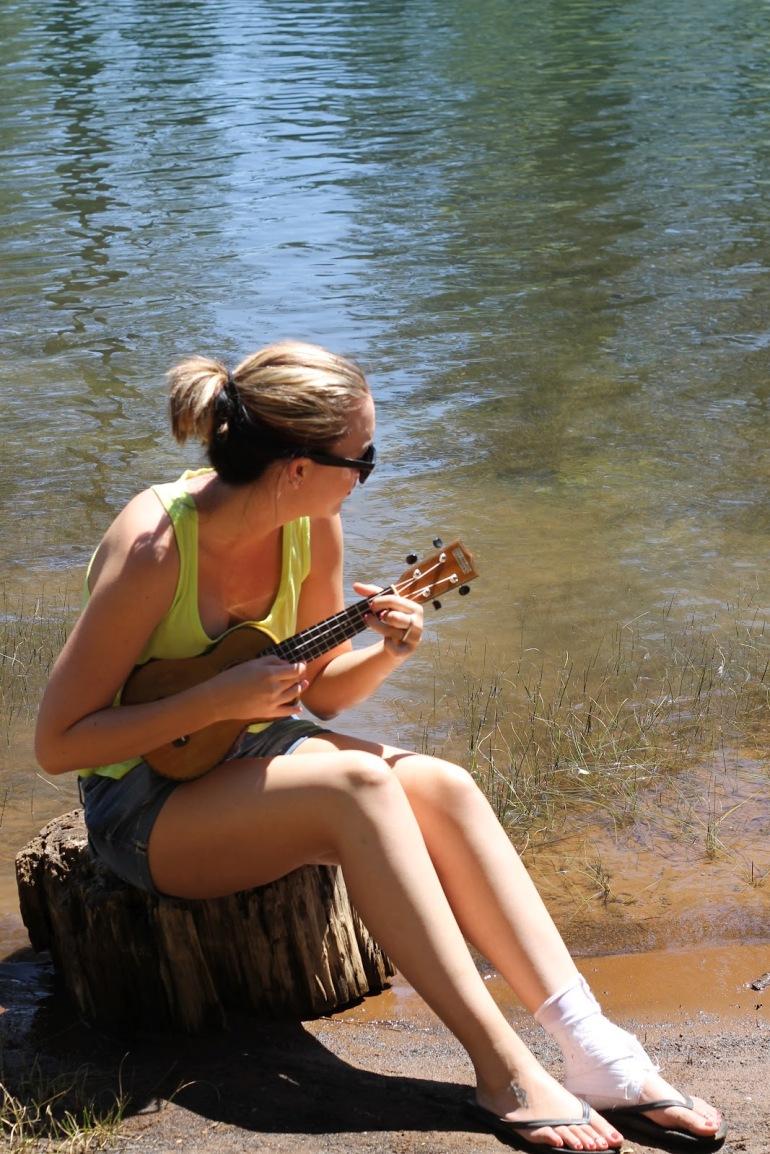 Pollack Pines Girls Weekend Jenkinson Lake Lindsey Ukelele 2