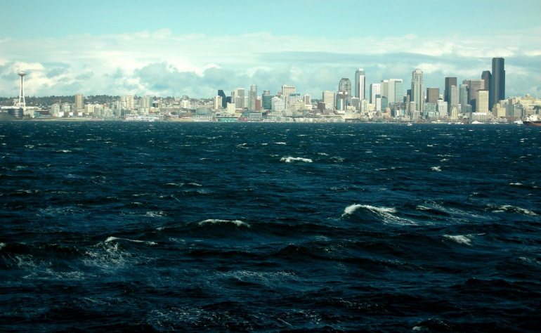 Seattle Skyline 2008