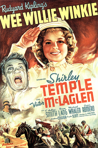 shirley temple wee willie winkie movie poster