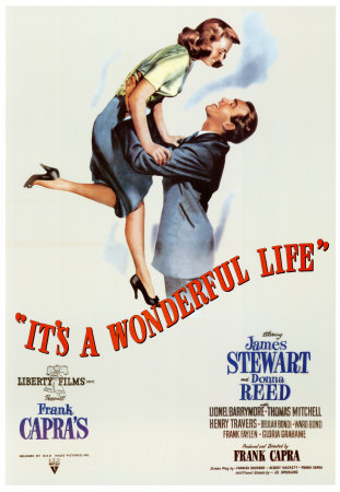 stewart its a wonderful life poster movie poster