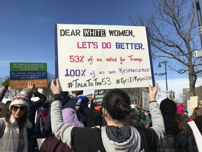 Dear White Women Tara Murtha Philadelphia Women's March 2018