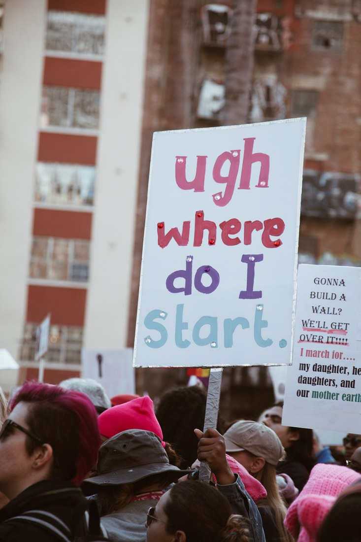 Women's March Kathryn Page Ugh Where Do I Start 2018-01-20