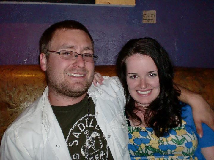 Stacy and Jonathan May 2010 Elsie's Santa Barbara