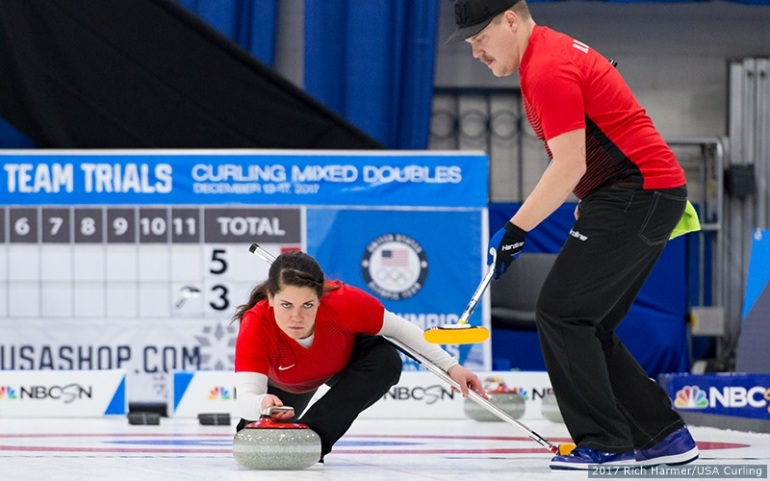 Team USA Olympics Hamilton Siblings Curling