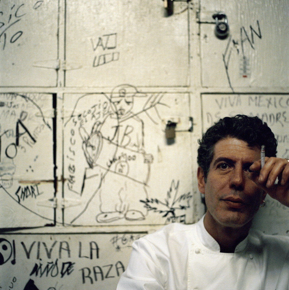 Anthony Bourdain Kitchen Confidential Parts Unknown